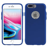 Modes Cases blue iPhone 8 / 7 Slim Electroplated Metallic Case