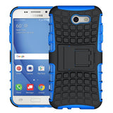 Modes Cases blue Samsung Galaxy J3 TPU Slim Rugged Stand Case Cover