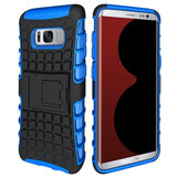 Modes Cases blue Samsung Galaxy S8 TPU Slim Rugged Stand Case Cover