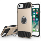 Modes Cases gold iPhone 7 / 8 Shockproof 360° Ring Case