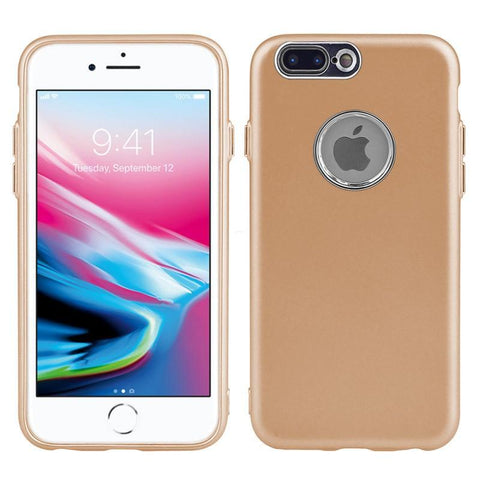Modes Cases gold iPhone 8 / 7 Slim Electroplated Metallic Case