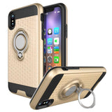 Modes Cases gold iPhone X Magnet Ring Stand Case