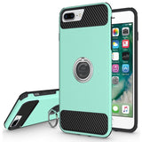 Modes Cases green iPhone 6 / 6S Plus Shockproof 360° Ring Stand Case