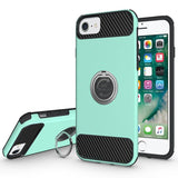 Modes Cases green iPhone 7 / 8 Shockproof 360° Ring Case