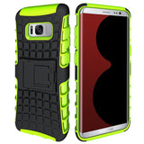 Modes Cases green Samsung Galaxy S8 TPU Slim Rugged Stand Case Cover