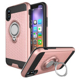 Modes Cases pink iPhone X Magnet Ring Stand Case