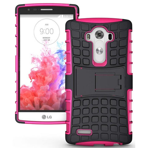 Modes Cases pink LG G4 TPU SLIM RUGGED STAND CASE COVER