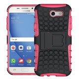 Modes Cases pink Samsung Galaxy J3 TPU Slim Rugged Stand Case Cover