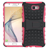 Modes Cases pink Samsung Galaxy J7 TPU Slim Rugged Stand Case Cover