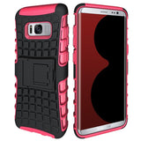 Modes Cases pink Samsung Galaxy S8 TPU Slim Rugged Stand Case Cover