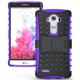 Modes Cases purple LG G4 TPU SLIM RUGGED STAND CASE COVER