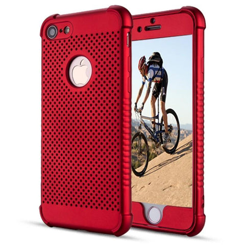 Modes Cases red iPhone 7 / 8  Shockproof Breathable Cooling Case