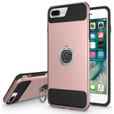 Modes Cases rose iPhone 6 / 6S Plus Shockproof 360° Ring Stand Case