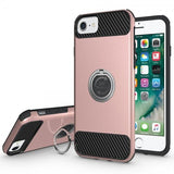 Modes Cases rose iPhone 6 / 6S Shockproof 360° Ring Case