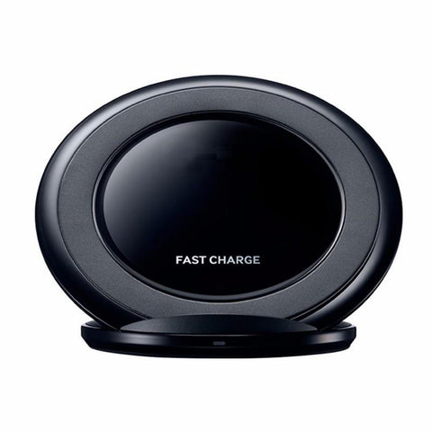 Modes Charger black Fast QI Wireless Charger Stand Dock 2000Mah