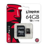 Modes memory card Class 10 Kingston Ultra Micro SD Memory Card 64GB