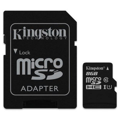 Modes memory card Class 10 Kingston Ultra Micro SD Memory Card 8GB