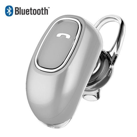 Modus Headphones silver Universal Mini Stereo BT Earpiece With Microphone Headset