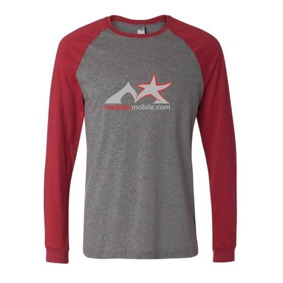 Canvas Long Sleeve Baseball Jersey T-Shirt
