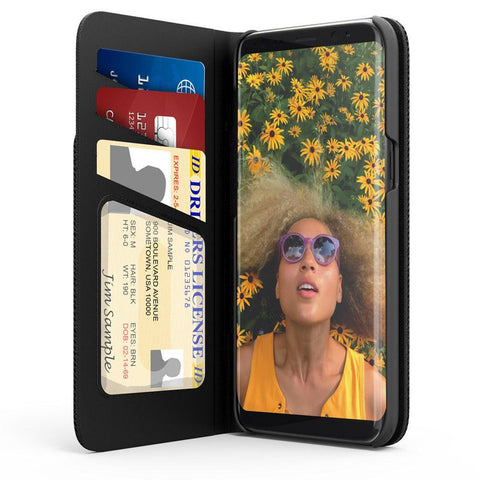 Voicecomm Cases Samsung Galaxy S8 Plus Wallet Case