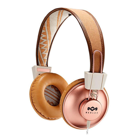 Voicecomm Headphones copper House of Marley Positive Vibration On-Ear Headphones