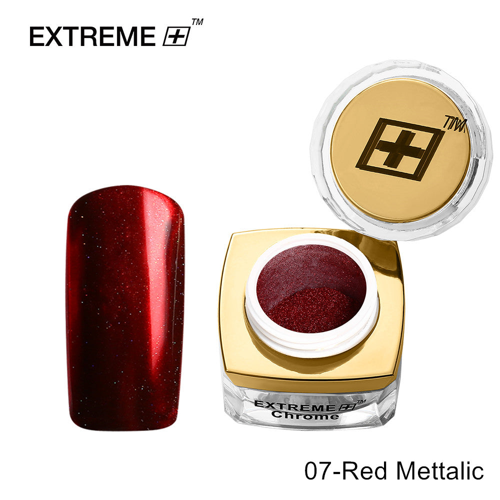 Extreme+ Chrome Powder # 07 Red Metallic