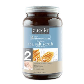 Cuccio Milk & Honey Sea Salt Scrub