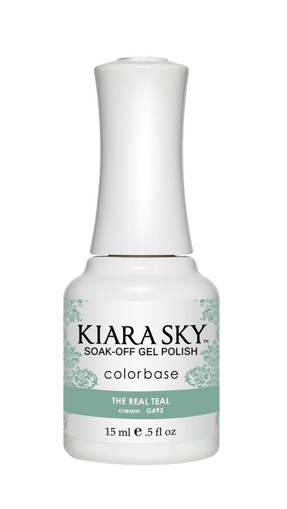 KIARA SKY GEL + MATCHING LACQUER (DUO) - G493 The Real Teal