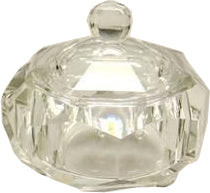 BR Glass Jar Hexagon
