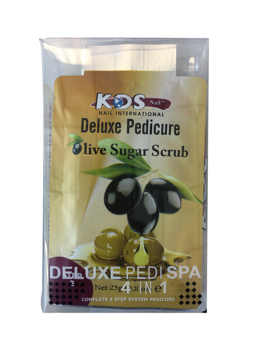 KDS Deluxe Pedicure 4 Step - Olive