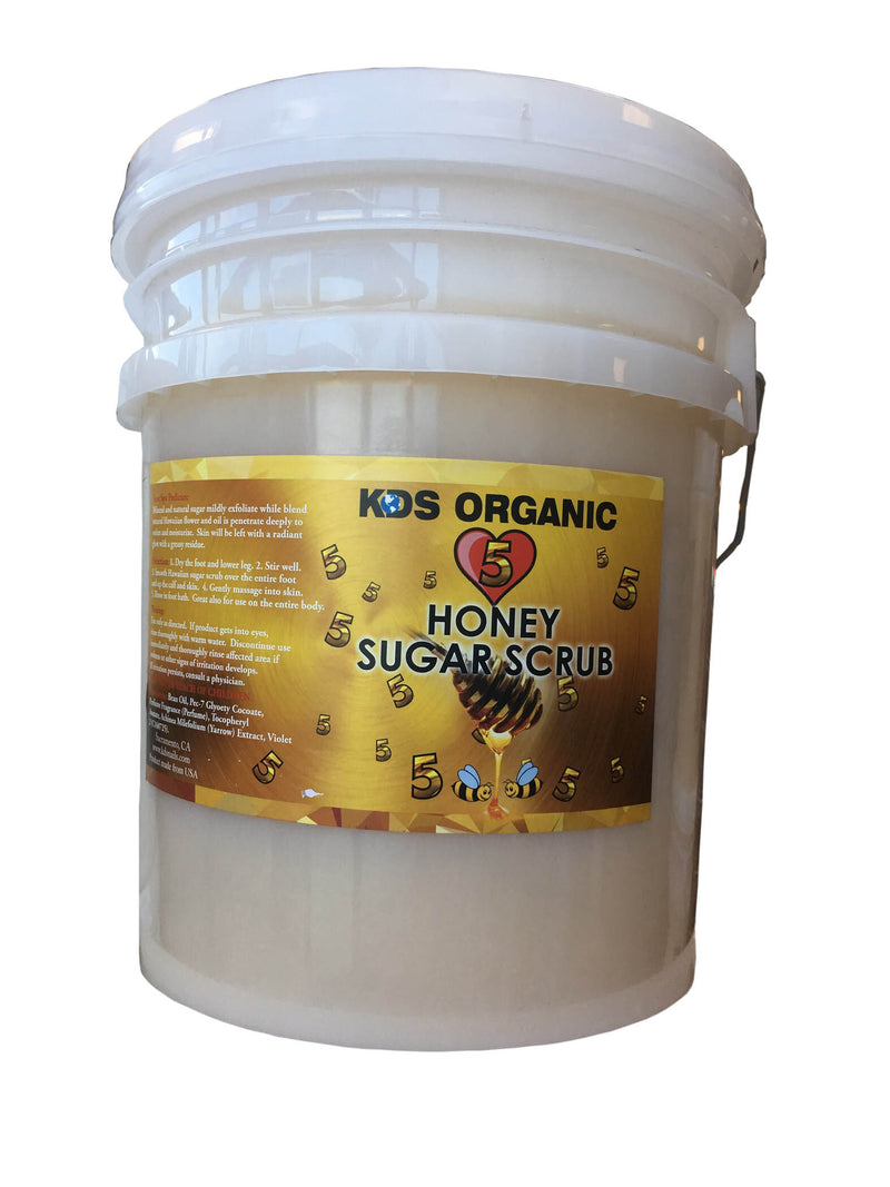 KDS Honey Sugar Scrub Bucket - Organic