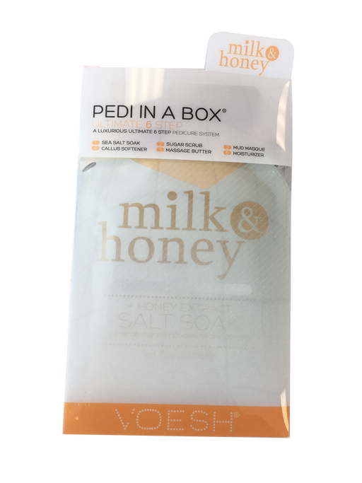 VOESH Deluxe Pedicure 6 Step - Milk & Honey
