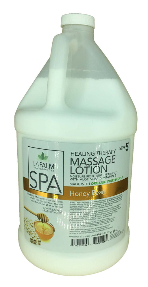 LAPALM Massage Lotion - STEP 5