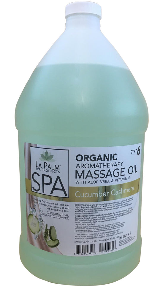 La Palm -  Massage Oil Cucumber Step 6
