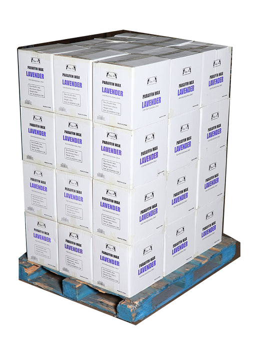 Happy Feet Paraffin Lavender - Pallet $62.50/Case ( 36 lbs ) + FREE SHIPPING
