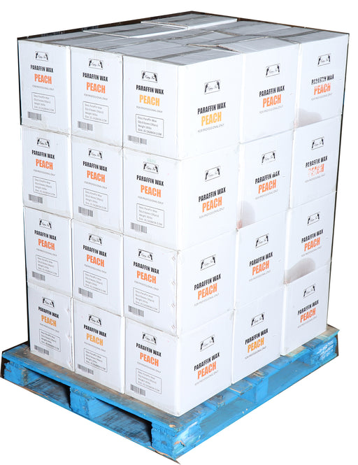 Happy Feet Paraffin Peach - Pallet $62.50/Case ( 36 lbs ) + FREE SHIPPING