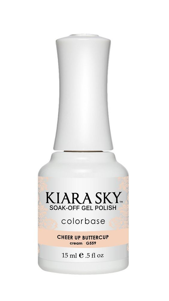KIARA SKY GEL + MATCHING LACQUER (DUO) - G559 Cheer Up Buttercup