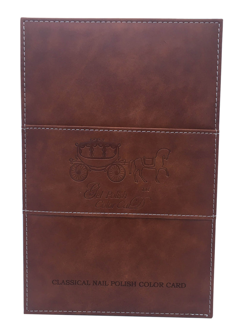 Leather Book 160 Tips - Brown