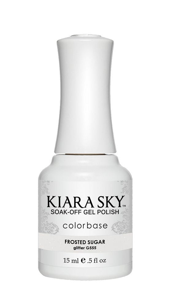 KIARA SKY GEL + MATCHING LACQUER (DUO) - G555 Frosted Sugar