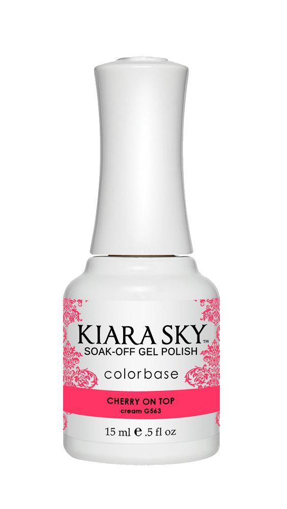 KIARA SKY GEL + MATCHING LACQUER (DUO) - G563 Cherry On Top