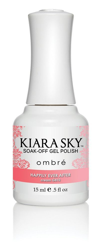 Kiara Sky Gel Polish - G810 Happily Ever After