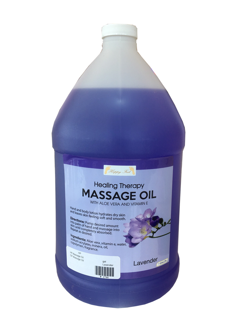 Happy Feet Massage Oil - Lavender