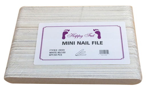 "HP - Nails Manicure File small 4"" and 5"" White"