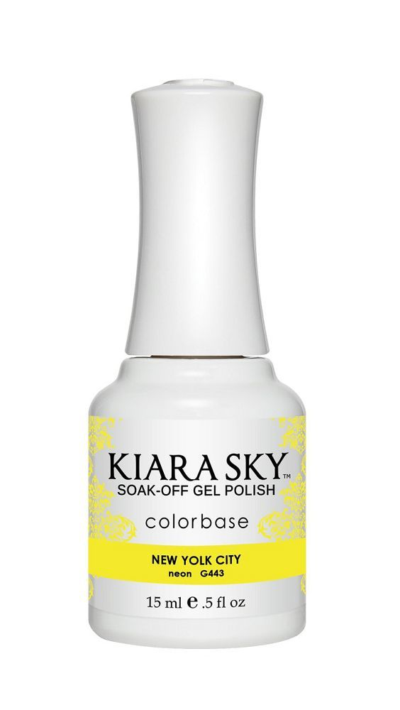 KIARA SKY GEL + MATCHING LACQUER (DUO) - G443 New Yolk City