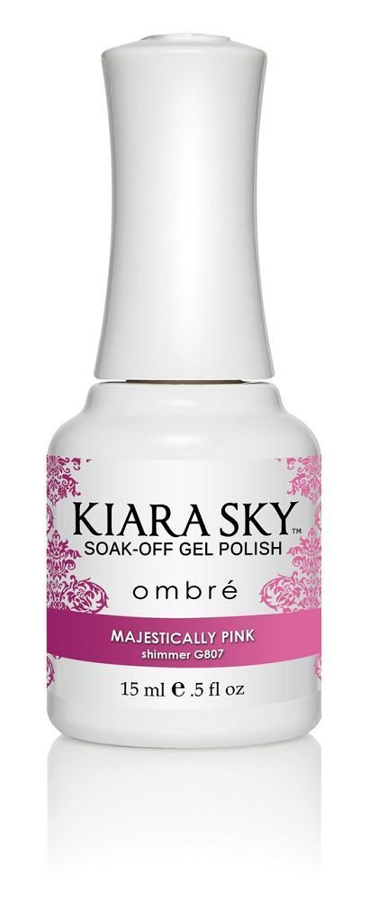 Kiara Sky Gel Polish - G807 Majestically Pink