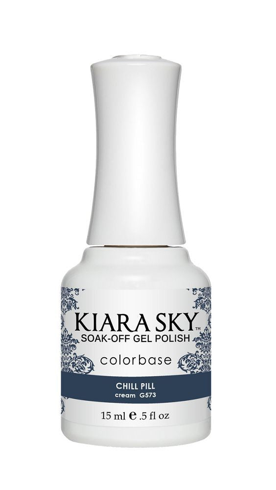 KIARA SKY GEL + MATCHING LACQUER (DUO) - G573 Chill Pill
