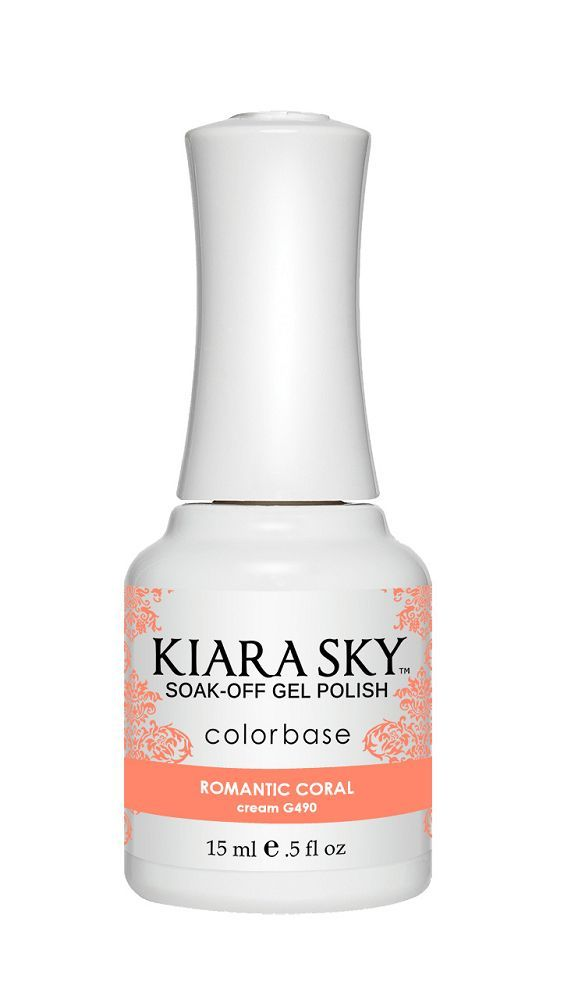 KIARA SKY GEL + MATCHING LACQUER (DUO) - G490 Romantic Coral