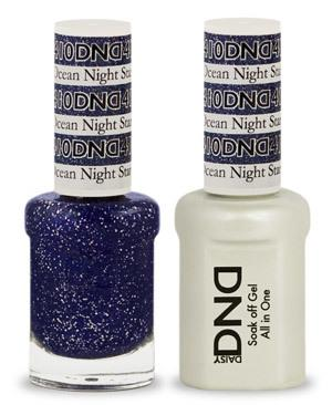DND - Gel & Lacquer # 410 Ocean Night Star