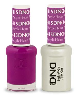 DND - Gel & Lacquer # 415 Purple Heart