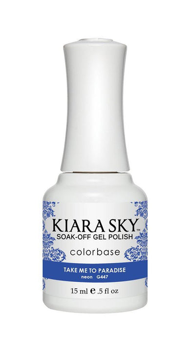 Kiara Sky Gel Polish - G447 Take Me To Paradise